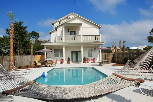 Island Pearl-8bd/8ba-Big Priv Pool&View NoWeddings - Image 1 - Destin - rentals