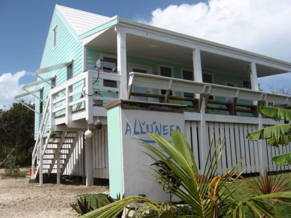 Front of  house from driveway - All you Need is Exactly What you Need - Hopetown - Hope Town - rentals