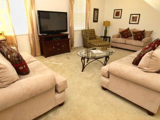 Living Room with Flat Screen TV  - LP5P803KR 5BR Pool Home with a Conservation View - Davenport - rentals