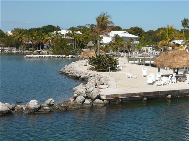 Beach Aerial View - BROCK HAUS ON THE GULF - Islamorada - rentals