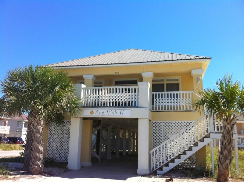Angel Fish Front home - Deck with view of Mobile bay and the Gulf - 4BR/3.5BA Luxury Beautiful Beach,Pools,Tennis,Wifi - Gulf Shores - rentals