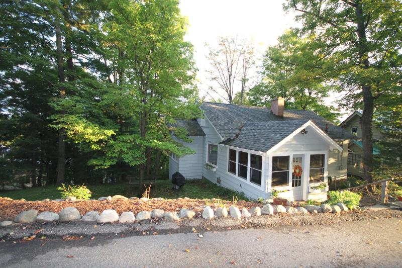 View from the Side - Cook House - Saranac Lake - rentals