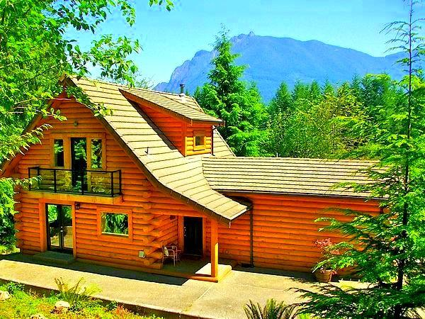 Welcome to Our Award Winning Log Home - 180° OMG View - Luxurious Riverfront Log Home, 25Min to Downtown Seattle/Airport - Seattle - rentals
