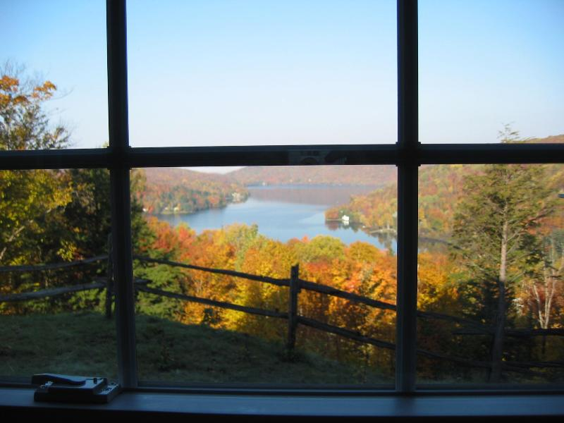 View from the sitting room - Mont Tremblant Lakeview Terrace - A Real Gem - Loo - Mont Tremblant - rentals