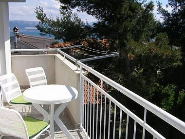 A4(2+2): balcony - 00512SLAT  A4(2+2) - Slatine - Slatine - rentals