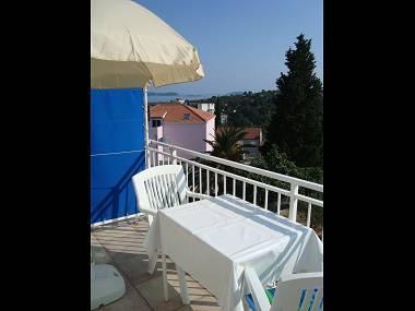 A3(2): terrace - 00116SREB A3(2) - Srebreno - Srebreno - rentals