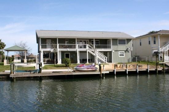 View from across the canal of Royal Estes - Royal Estes - Rockport - rentals