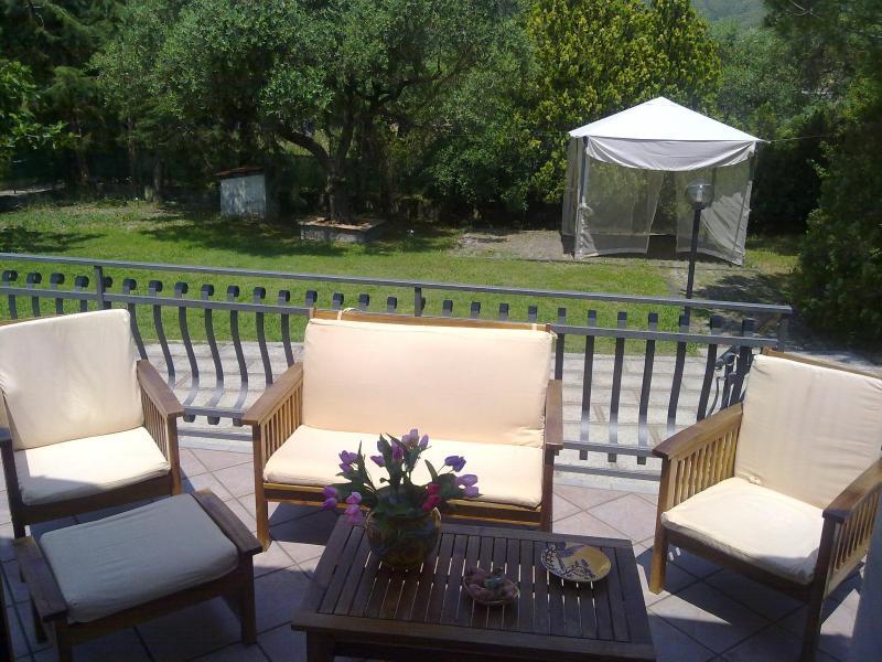 Terrace/Balcony - Villa Brigida-Santa Maria - Santa Maria di Castellabate - rentals