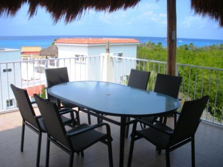 Panoramic views from Sol Caribe's 3rd story terrace!! - Affordable luxury in paradise, Private pier - Cozumel - rentals