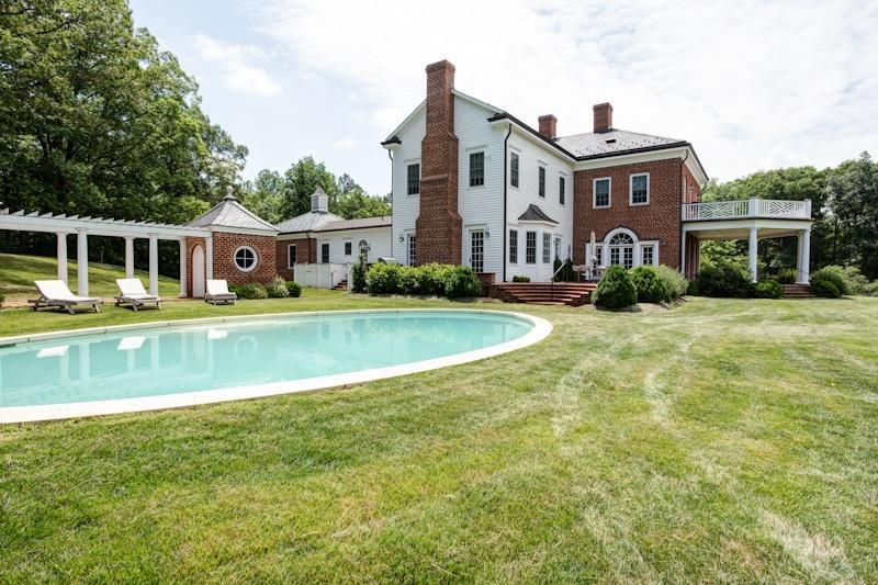 Estate view with private pool - Extraordinary Keswick estate with private pool - Charlottesville - rentals