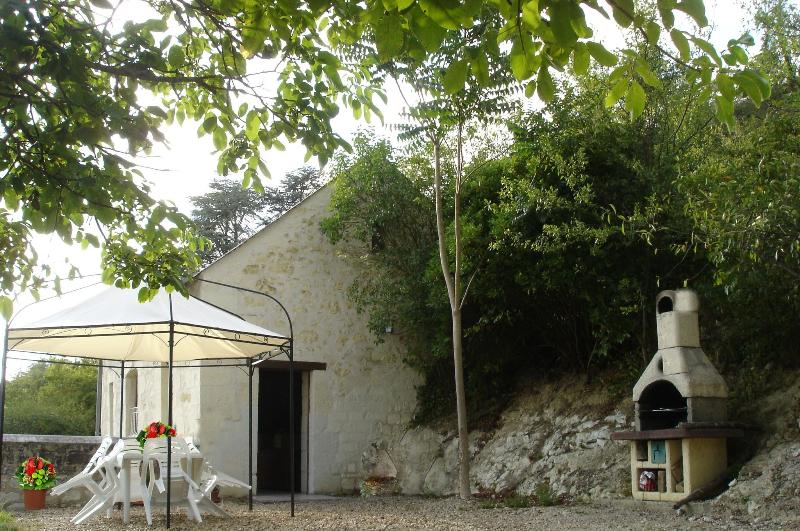 OUTSIDE THE COTTAGE - Les Cathelinettes - Chinon - rentals