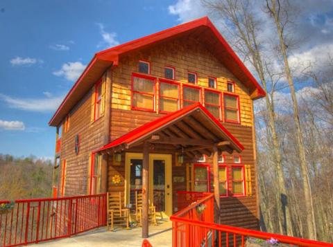 Total Luxury 2 Bdrm 2.5 Bth Sleeps 8 Hot Tub,Wi-Fi - Image 1 - Gatlinburg - rentals