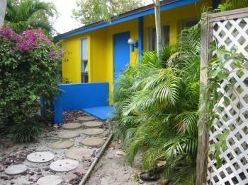 Front Door Entrance - Ricks Retreat In Captiva Florida - Captiva Island - rentals