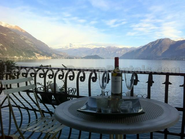 View from Balcony - Casa Sul Lago Medio - Argegno - rentals