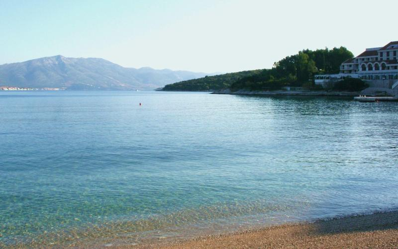 Nearest beach - Apartment PLAZA*** - steps from the beach - Korcula Town - rentals