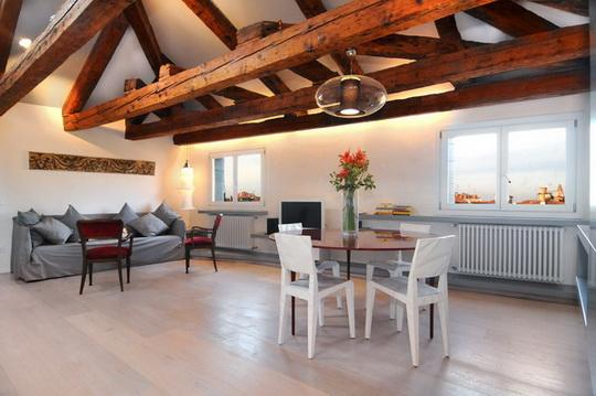 The open-plan main room - Ca' Del Gabbiano 2 - Venice - rentals