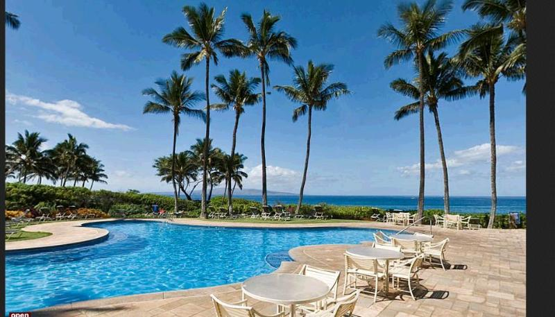 Amazing Ekahi pool & pavillion perch atop Keawakapu Beach w/ never-ending views of the Pacific ocean - Close, close, close to ocean-Wailea Ekahi 20B - Wailea - rentals