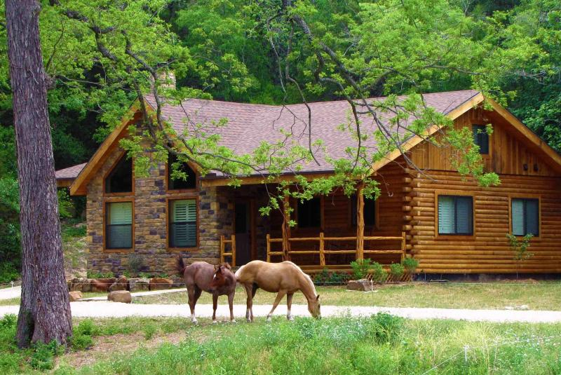 "Vacation house with ""Billy & Boots"" (ranch quarter horses) - Brazos Bluffs Ranch to Horseback Ride, Canoe+++! - Waco - rentals"