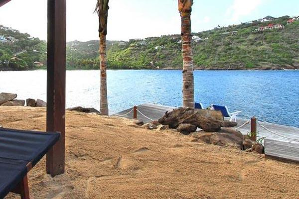 Bungalow with own private beach overlooking Marigot Bay	 WV DRE - Image 1 - Marigot - rentals