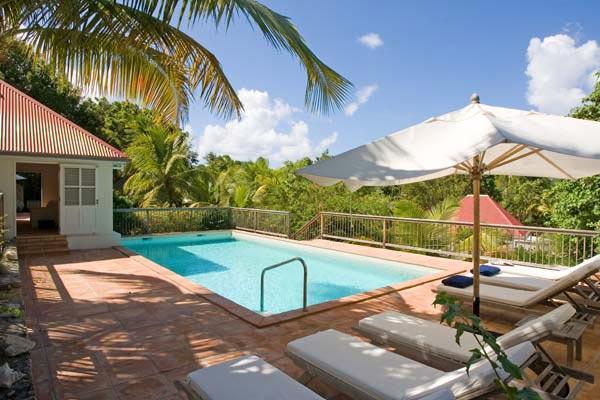 Elegant, colonial, plantation style villa near quiet beach WV BDM - Image 1 - Saint Barthelemy - rentals