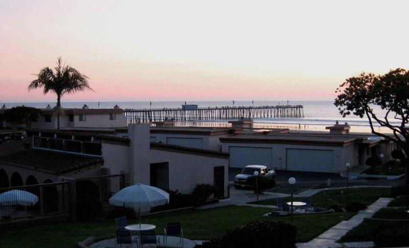 Pismo Beach pier and ocean view from master bedroom - Pismo Shores Gem - Off-season is the BEST! - Pismo Beach - rentals