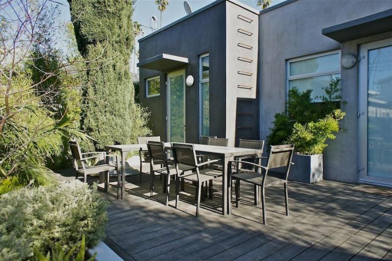 Backyard - Victoria Venice Architectural Dream House - Santa Monica - rentals