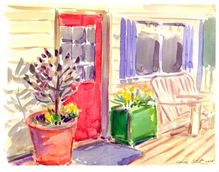 The Red Door - Eagle View Cottage - Bird Watcher's Paradise & Artists Dream! - Salt Spring Island - rentals
