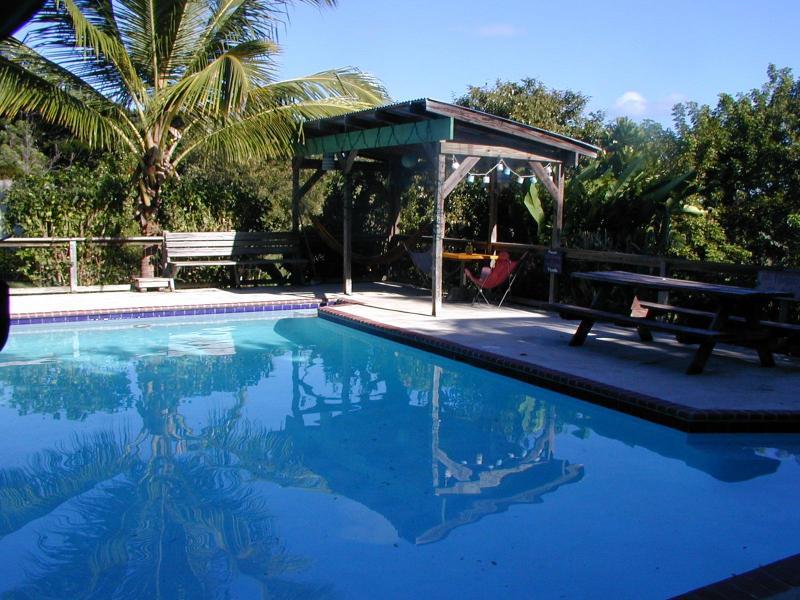 Shared saltwater pool - La Finca's Casa Nueva - Isla de Vieques - rentals