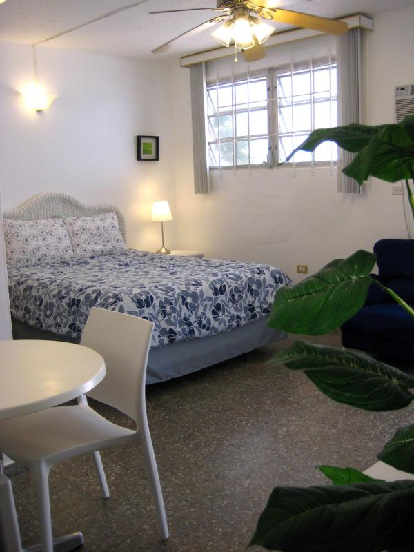 Queen size bed - Steps from Beautiful Ocean Park Beach, S. Juan, PR - San Juan - rentals