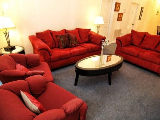 Living Area - TC5P344RD Spacious 5 Bedroom Pool Home Near Disney World - Orlando - rentals