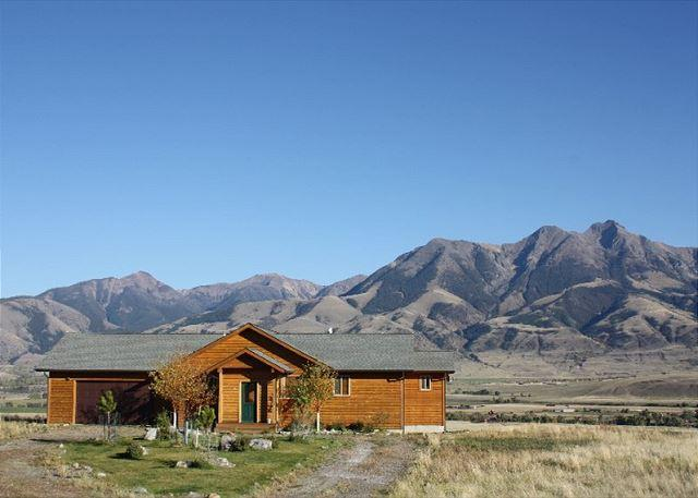 Comfortable home with amazing views of the Absaroka Range - Silver Peaks - Emigrant - rentals
