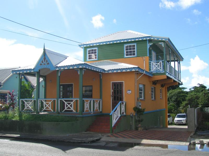 "view of entire building - ""Booby Duck Cottage"" in the heart of St. Lawrence - Saint Lawrence Gap - rentals"