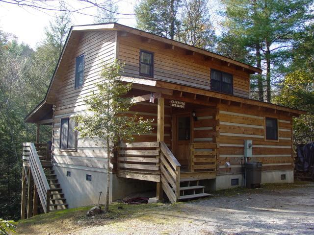 Creekside Overlook Cabin - Secluded Log Cabin Overlooking Creek - Boone Secluded Creek Cabin/Hot Tub/Winter Specials - Boone - rentals