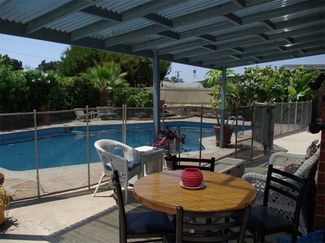 Patio & Pool - Private Pool & Lg Jacuzzi, Great Location! - Pacific Beach - rentals