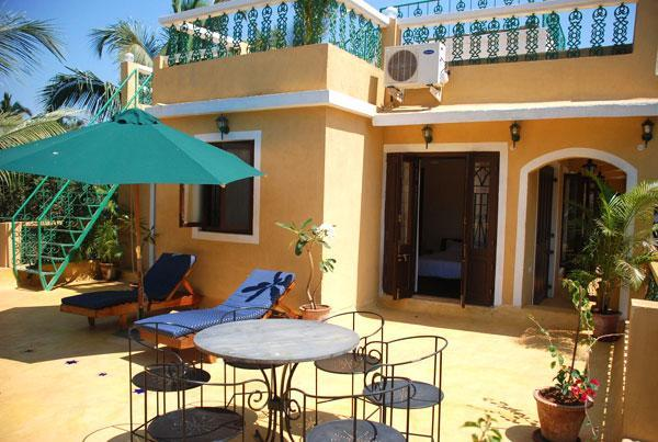 """Sun Deck of Tres Casitas - Goa Casitas """" Tres Casitas"""" Luxury Boutique Villa - Goa Velha - rentals"""