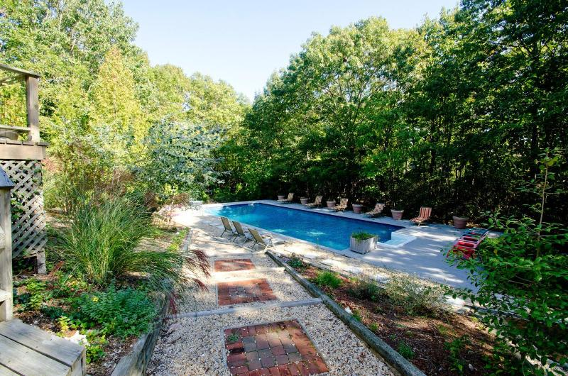 Great Outdoor Terrached oversized 20 x 44 pool - Sag Harbor Perfect For Extended Family and Friends - Sag Harbor - rentals
