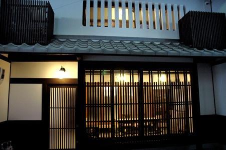 From outside in the arcade - Komachiya Kyoto machiya townhouse near Gion - Kyoto - rentals
