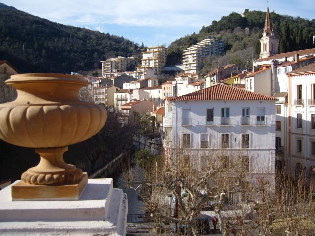 View from Terrace - Superb Apartment in the heart of Amelie les Bains - Amelie-les-Bains-Palalda - rentals