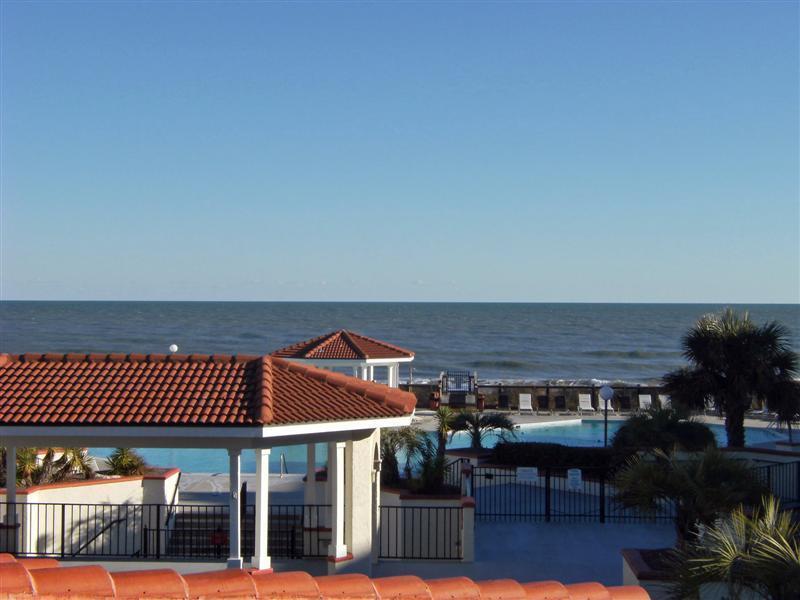 Deck View - 201A Villa Capriani  -- 2 BR Ocean Front - North Topsail Beach - rentals