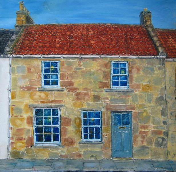 Artists impression of house front. - Luxury Self-Catering in the heart of town. - Saint Andrews - rentals