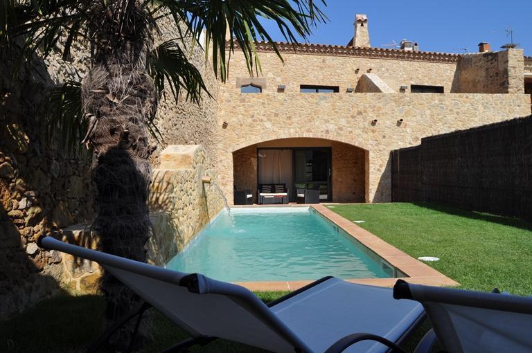 Can Caranta_Catalina House_Garden's Façade - CAN CARANTA (Catalina): Splendid XVIIIC. House - Pals - rentals