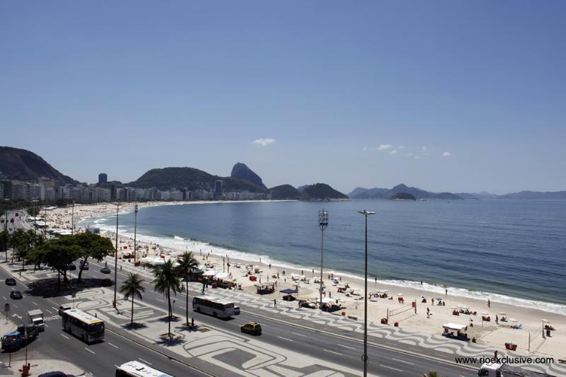 OCEAN FRONT STUDIO in Copacabana : Rio080 - Image 1 - Copacabana - rentals