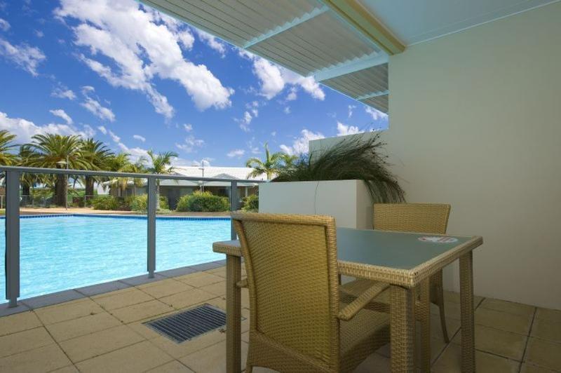 Balcony - Pacific Blue Resort 179 - Salamander Bay - rentals
