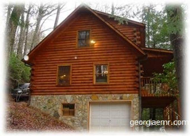 Skip's Bearly Rustic Cabin - This is a charming, log cabin in the heart of the mountains! - Blairsville - rentals