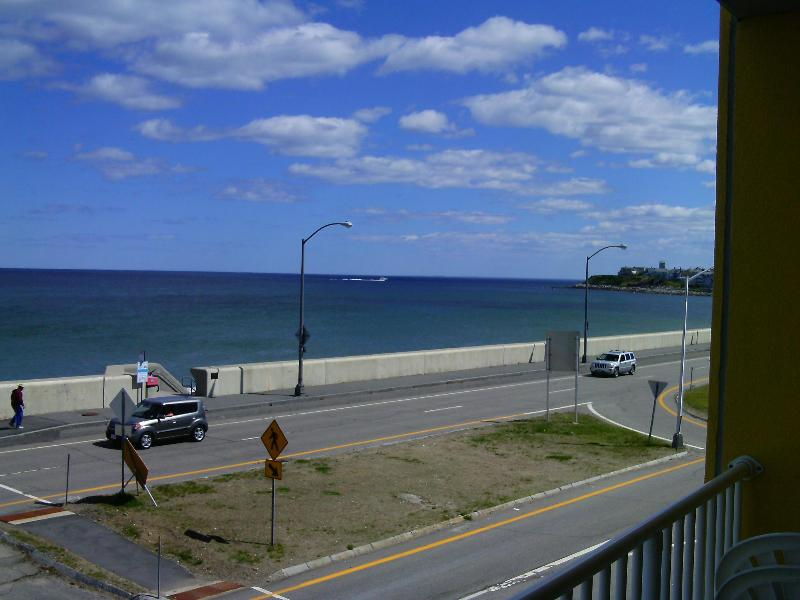ocean front view from condo - Awesome Oceanfront Studio condo w/balcony - Hampton - rentals