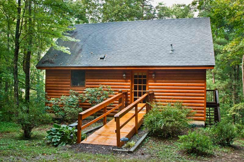 Front - Little Cabin in the Woods - Mineral Bluff - rentals