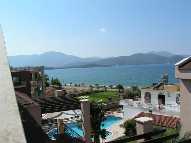 View from terrace/balcony - Calis Beach Apartment With Breathtaking Sea Views - Fethiye - rentals