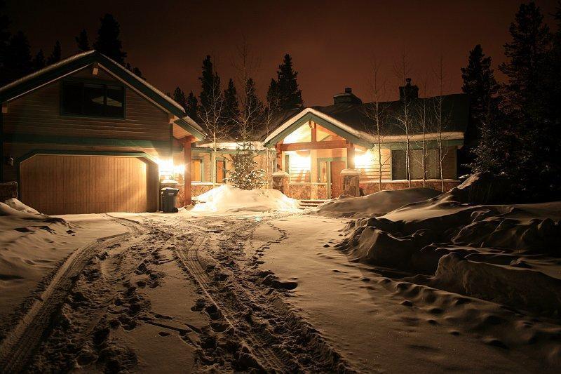 Aspen Lodge at Night - 8af18520-353f-11e0-bbab-001ec9b3fb10 - Breckenridge - rentals