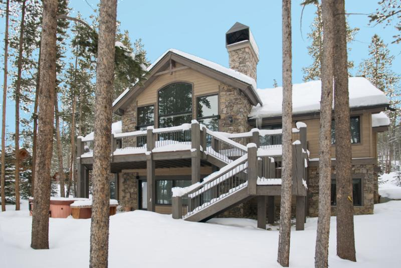 Rock House - Luxurious 6 Bed Home in Breckenridge - Image 1 - Breckenridge - rentals