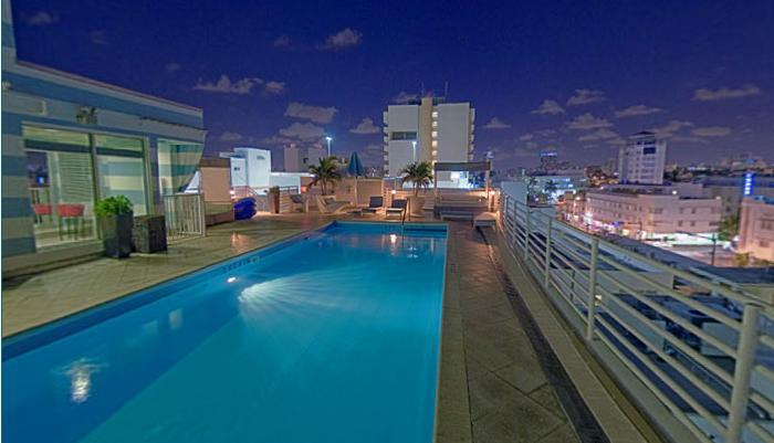 Roof Top Pool City View - OCEAN DRIVE-OVER LOOKING VERSACE MANSION - Miami Beach - rentals